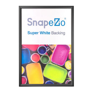 Black snap frame poster size 24x48 - 1.7 inch profile - Snap Frames Direct