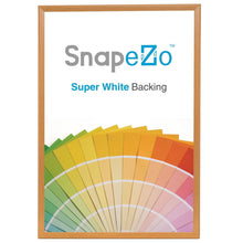 "Load image into Gallery viewer, 30x40 Light Wood SnapeZo® Return Snap Frame - 1.25"" Profile"