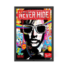 Load image into Gallery viewer, Black locking snap frame poster size 24X36 - 1.25 inch profile - Snap Frames Direct