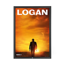 Load image into Gallery viewer, Black locking snap frame poster size 27X40 - 1.25 inch profile - Snap Frames Direct
