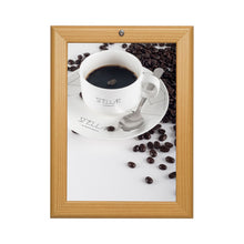 Load image into Gallery viewer, Light Wood locking snap frame poster size 16X20 - 1.25 inch profile - Snap Frames Direct