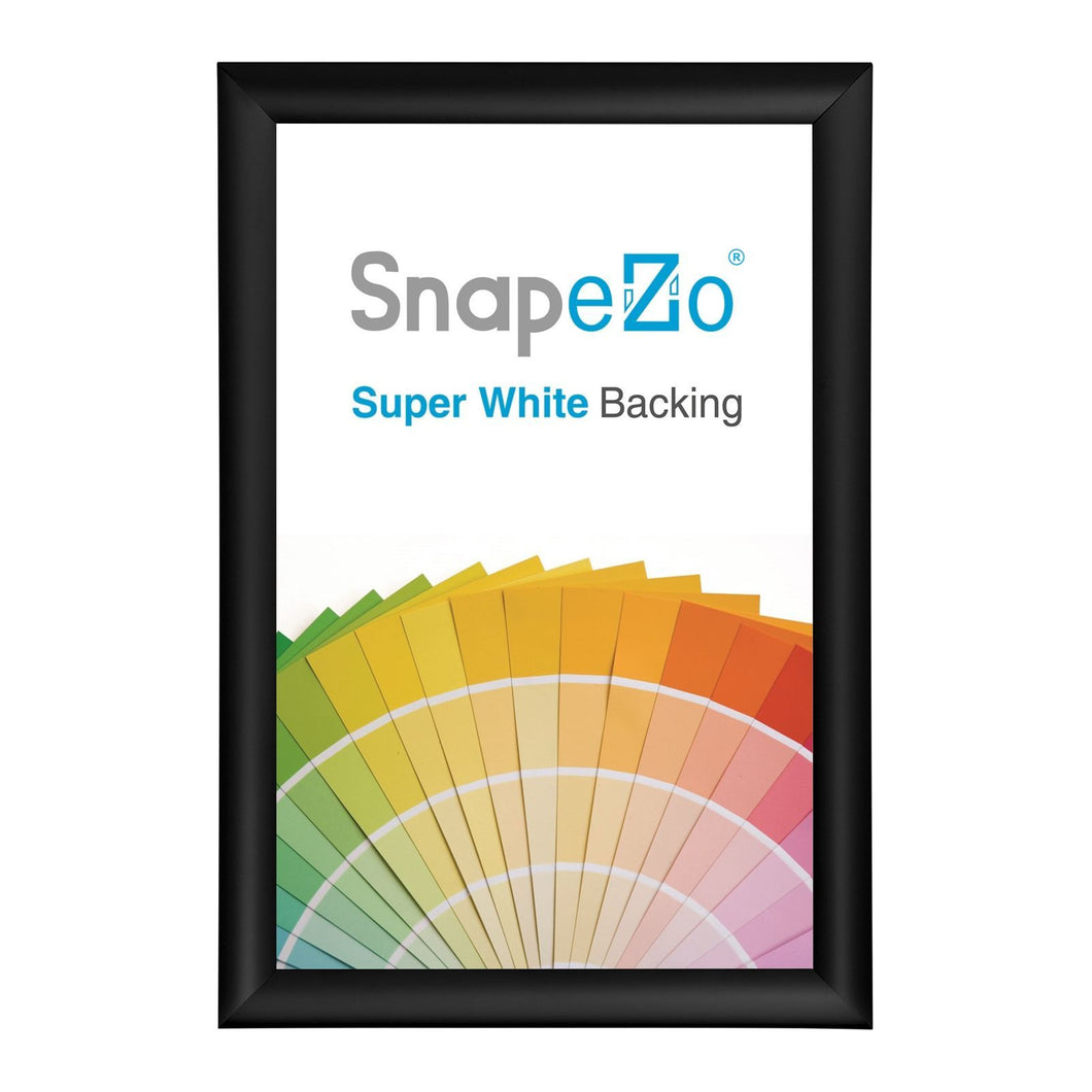 10x29 Black SnapeZo® Return Snap Frame - 1.25