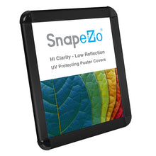 "Load image into Gallery viewer, 8.5x11 Black SnapeZo® Round-Cornered - 1.25"" Profile"