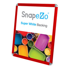 "Load image into Gallery viewer, 22x28 Red SnapeZo® Round-Cornered - 1.25"" Profile"