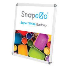 "Load image into Gallery viewer, 22x28 White SnapeZo® Round-Cornered - 1.25"" Profile"