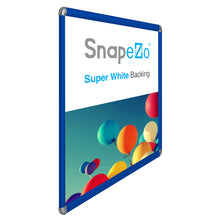 "Load image into Gallery viewer, 36x48 Blue SnapeZo® Round-Cornered - 1.25"" Profile"