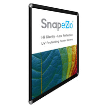 "Load image into Gallery viewer, 30x40 Black SnapeZo® Return Round-Cornered - 1.25"" Profile"