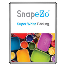 "Load image into Gallery viewer, 30x40 Silver SnapeZo® Return Round-Cornered - 1.25"" Profile"