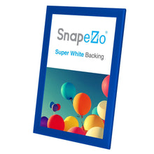"Load image into Gallery viewer, 11x17 Blue SnapeZo® Return Snap Frame - 1.25"" Profile"