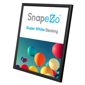"11x14 Black SnapeZo® Snap Frame - 0.6"" Profile"