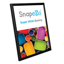 "Load image into Gallery viewer, 5x7 Black SnapeZo® Snap Frame - 0.6"" Profile"