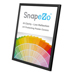 "5x7 Black SnapeZo® Snap Frame - 0.6"" Profile"