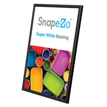 "Load image into Gallery viewer, 11x17 Black SnapeZo® Snap Frame - 0.6"" Profile"