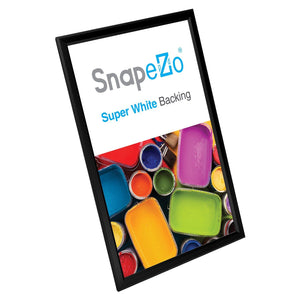 "11x17 Black SnapeZo® Snap Frame - 0.8"" Profile"