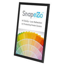 "Load image into Gallery viewer, 11x17 Black SnapeZo® Snap Frame - 0.8"" Profile"