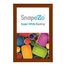 "Load image into Gallery viewer, Brown SnapeZo® Snap Frame 18x24 - 1.2"" Profile"