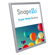 "Load image into Gallery viewer, 11x14 Silver SnapeZo® Snap Frame - 0.6"" Profile"