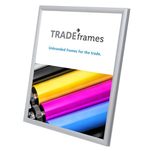 "8.5x11 Silver TRADEframe Snap Frame - 0.6"" Profile"