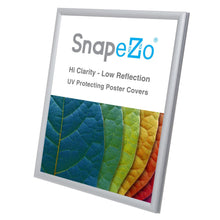"Load image into Gallery viewer, 8x10 Silver SnapeZo® Snap Frame - 0.6"" Profile"