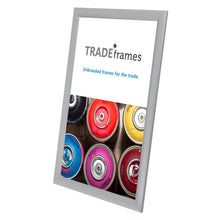 "Load image into Gallery viewer, 11x17 Inches Silver Snap Frame - 1"" Profile"