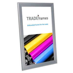 "11x17 Inches Silver Snap Frame - 1.25"" Profile"