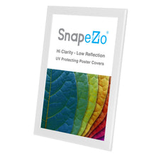 "Load image into Gallery viewer, 11x17 White SnapeZo® Snap Frame - 1.25"" Profile"