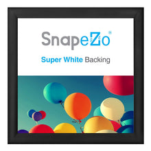"Load image into Gallery viewer, 37x37 Black SnapeZo® Return Snap Frame - 1.2"" Profile"