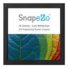 "Load image into Gallery viewer, 25x25 Black SnapeZo® Return Snap Frame - 1.2"" Profile"