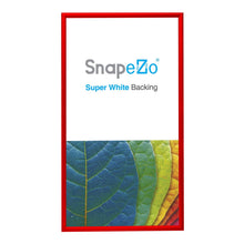 "Load image into Gallery viewer, 14x26 Red SnapeZo® Snap Frame - 1.2"" Profile"