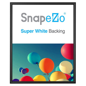 Black snap frame poster size 18X24 -  0.6 inch profile - Snap Frames Direct