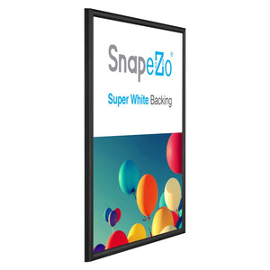 18x24 Black SnapeZo Snap Frame - 0.6 Inch Profile