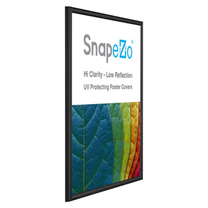 "18x24 Black SnapeZo® Snap Frame - 0.6"" Profile"