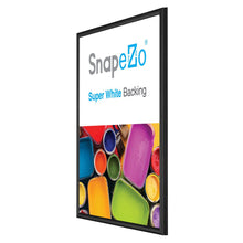 "Load image into Gallery viewer, 18x24 Black SnapeZo® Snap Frame - 0.6"" Profile"