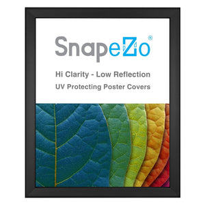 Black snap frame poster size 18X24 - 0.8 inch profile - Snap Frames Direct
