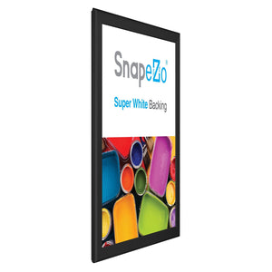 "18x24 Black SnapeZo® Snap Frame - 0.8"" Profile"