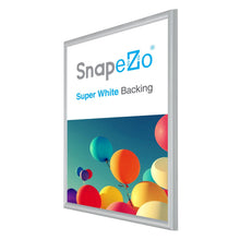 "Load image into Gallery viewer, 20x30 Silver SnapeZo® Snap Frame - 0.6"" Profile"