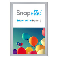 Load image into Gallery viewer, Silver snap frame poster size 20X30 - 0.8 inch profile - Snap Frames Direct