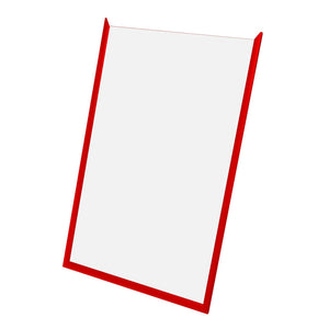 "16x30 Red SnapeZo® Snap Frame - 1.2"" Profile"