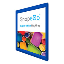 "Load image into Gallery viewer, 20x24 Blue SnapeZo® Snap Frame - 1.2"" Profile"