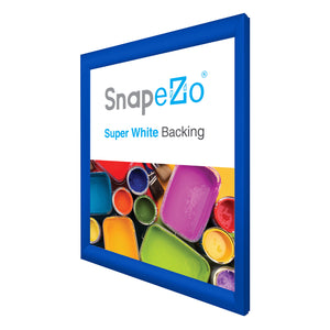 "20x24 Blue SnapeZo® Snap Frame - 1.2"" Profile"