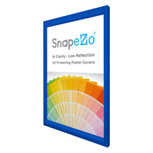 "Load image into Gallery viewer, 19x30 Blue SnapeZo® Snap Frame - 1.2"" Profile"