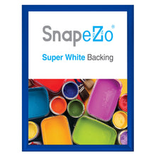 "Load image into Gallery viewer, 21x27 Blue SnapeZo® Snap Frame - 1.2"" Profile"