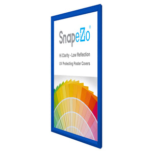 "21x27 Blue SnapeZo® Snap Frame - 1.2"" Profile"