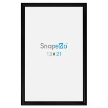 Load image into Gallery viewer, Black snap frame poster size 19x30 - 1.2 inch profile - Snap Frames Direct