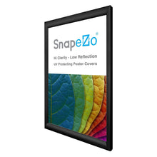"Load image into Gallery viewer, 13x21 Black SnapeZo® Return Snap Frame - 1.2"" Profile"