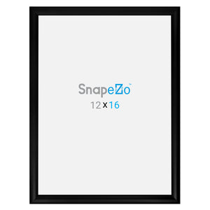 Black snap frame poster size 16X20 - 1.2 inch profile - Snap Frames Direct