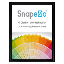 "Load image into Gallery viewer, 15x20 Black SnapeZo® Return Snap Frame - 1.2"" Profile"