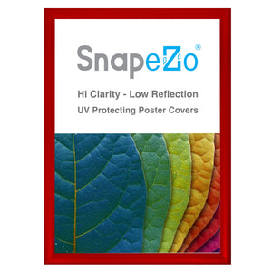 "21x29 Red SnapeZo® Snap Frame - 1.2"" Profile"