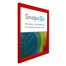 "Load image into Gallery viewer, 21x29 Red SnapeZo® Snap Frame - 1.2"" Profile"