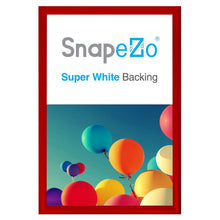 "Load image into Gallery viewer, 16x24 Red SnapeZo® Return Snap Frame - 1.2"" Profile"